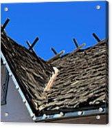 Roof Shingle Acrylic Print