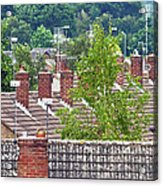 Rooftop Communication Acrylic Print