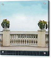 Rooftop Pool Acrylic Print