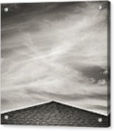 Rooftop Sky Acrylic Print by Darryl Dalton