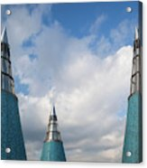 Rooftop Towers At Museum Of Technology Acrylic Print
