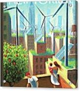 A Bright Future Acrylic Print