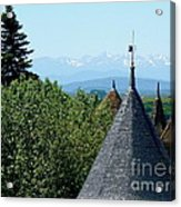 Rooftops Of Carcassonne Acrylic Print