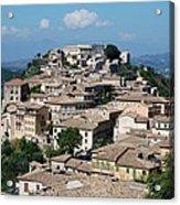 Rooftops Of The Italian City Acrylic Print