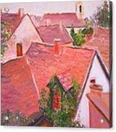 Rooftops Trogir Croatia Acrylic Print