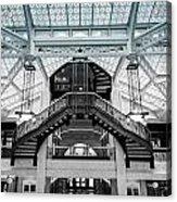 Rookery Building Atrium Acrylic Print