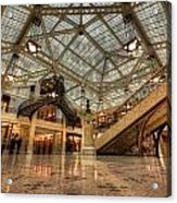 Rookery Building Main Lobby And Atrium Acrylic Print