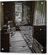 Room At The Wells Hotel - Montana Acrylic Print