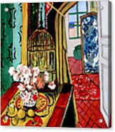 Room With A View After Matisse Acrylic Print