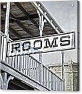 Rooms Acrylic Print