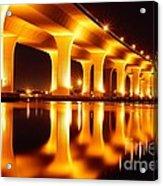 Roosevelt Bridge Acrylic Print by Lynda Dawson-Youngclaus