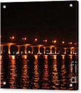 Roosevelt Bridge Panorama Acrylic Print