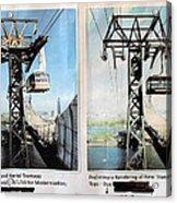 Roosevelt Island Tramway Acrylic Print