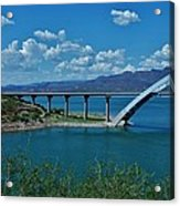 Roosevelt Lake 3 - Arizona Acrylic Print