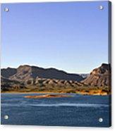 Roosevelt Lake Arizona Acrylic Print by Christine Till