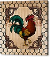 Rooster I Acrylic Print