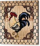 Rooster II Acrylic Print