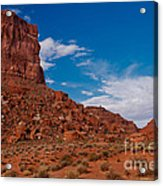 Rooster Rock Acrylic Print