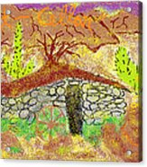 Root Cellar Acrylic Print by Joe Dillon