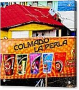 Roots Of La Perla At Old San Juan Acrylic Print