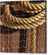 Rope And Net Acrylic Print