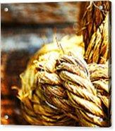 #rope Acrylic Print