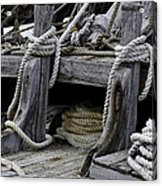 Rope Course Acrylic Print