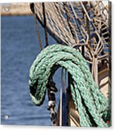 Ropes And Rigging Acrylic Print