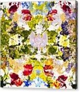 Rorschach Test Acrylic Print