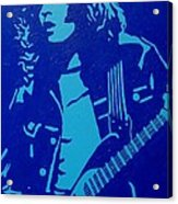 Rory Gallagher Acrylic Print by John  Nolan