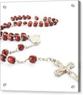 Rosary Beads Acrylic Print
