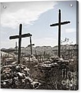 Rosary For The Dead Acrylic Print by April Davis