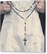Rosary Acrylic Print by Joana Kruse