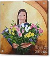 Rosa's Roses Acrylic Print