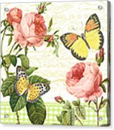 Rose Blush-a Acrylic Print