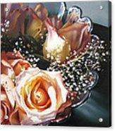 Rose Bowl Acrylic Print