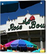Rose Bowl Acrylic Print