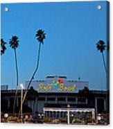Rose Bowl Sky  Acrylic Print