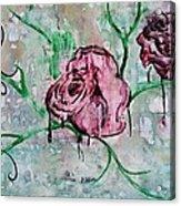 Rose Garden  Acrylic Print by Kiara Reynolds