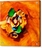 Rose In A Dream Acrylic Print
