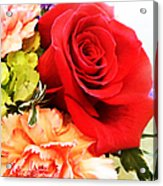 Rose Is A Rose Acrylic Print