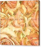 Rose Love Acrylic Print