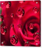 Rose Syrup Abstract 1 A Acrylic Print