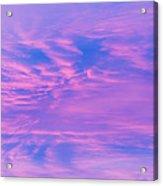 Roseate Hues Of Early Dawn Acrylic Print