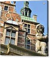 Rosenborg Castle In Copenhagen - Denmark Acrylic Print