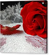 Roses Are Red2 Acrylic Print