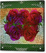 Roses- Featured In Beautiful Roses And Comfortable Art Groups Acrylic Print