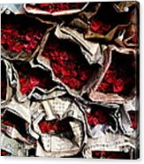 Roses For Sale Acrylic Print