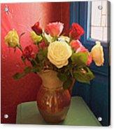 Roses For Sandra Acrylic Print