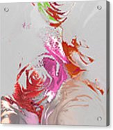Roses Acrylic Print by Soumya Bouchachi